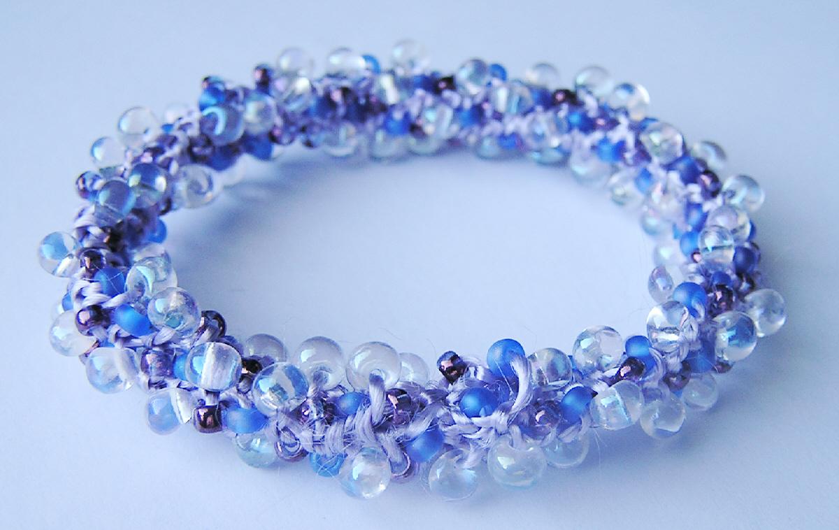 Knit Bracelet Pattern : KNIT A BEADED BRACELET   Bracelets: Jewelry